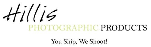 Hillis PHOTOGRAPHIC PRODUCTS You Ship, We Shoot!